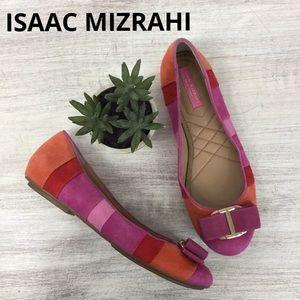 Isaac Mizrahi New York Frank Ballet Flats